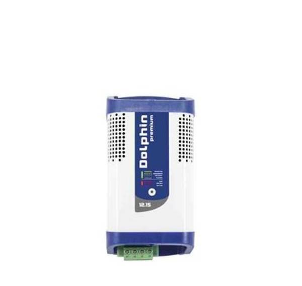 Bilde av DOLPHIN Premium 12V 15A Batterilader 3-kanaler