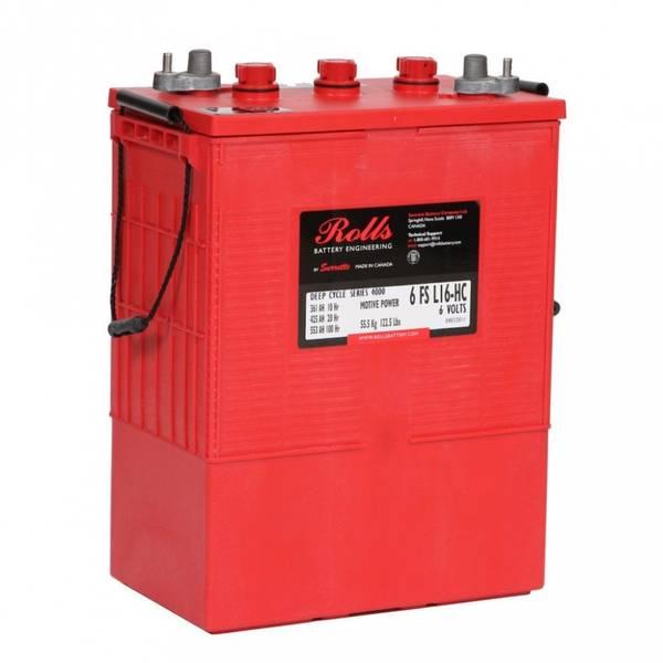 Bilde av ROLLS 6-FS-L16-HC Deep Cycle Batteri 6V 425AH