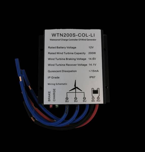 Bilde av SKANBATT WTN200S-LI Laderegulator til 12v 200w vindturbin for Li