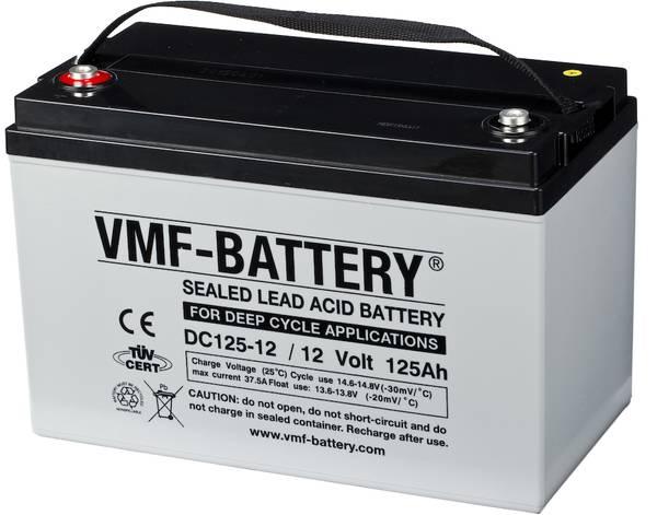 Bilde av VMF AGM Batteri 12V 125AH (Tilsvarer Ritar DC12-120S)