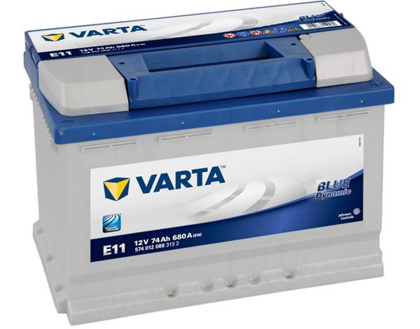 Bilde av VARTA E11  Blue Dynamic 12V 74AH 680CCA