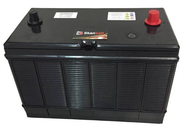 Bilde av SKANBATT Startbatteri 12V 110AH 1000CCA (330x171x217/242mm) +mid