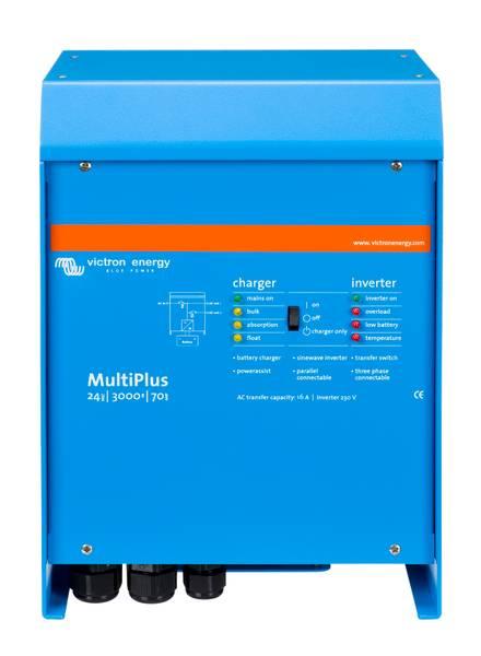 Bilde av VICTRON MultiPlus C24/3000/70-16 kombi inverter og lader