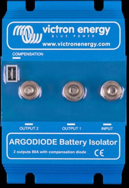Bilde av VICTRON Argodiode 80-2SC 2 batterier 80A