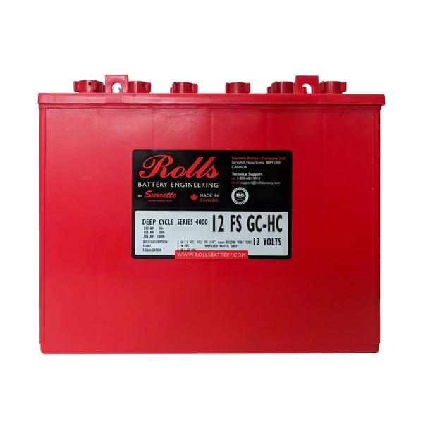Bilde av ROLLS 12-FS-GC-HC Deep Cycle Batteri 12V 155AH (333x182x274mm)